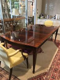 Baker Dining Room Table Sheraton Baker Dining Table Form U0026 Function