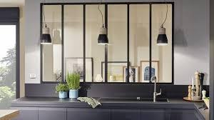cuisine avec verriere interieur verriere cloison interieure maison design bahbe com
