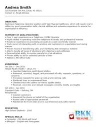 Resume Sample Bilingual Skills by Hotel Switchboard Operator Sample Resume Sale Invoice Format In