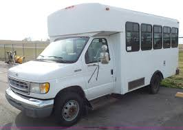 1998 ford econoline e350 bus item j4557 sold january 12