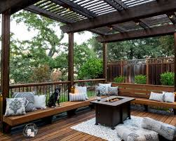 Pergola Deck Designs by Deck Pergola Ideas Houzz