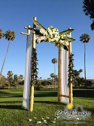 wedding arches bamboo bamboo wedding arches to match your style