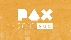 pax aus 2016 gamespot theatre panels friday november 4 youtube