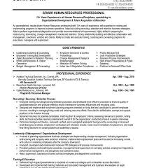 director of human resources resume human resource director resume