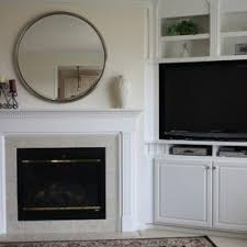 corner tv stand with doors foter