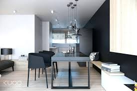 modern black dining table u2013 thelt co