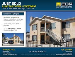 8 unit multi family investment property sold for 1 349 000 ecp