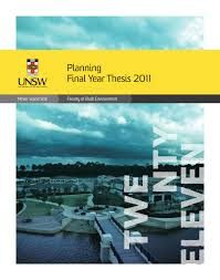 Graduation Projects        Bachelor and Master of Planning by UNSW Built Environment   issuu Issuu