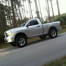 2014 dodge ram 1500 cab lifted ram 1500 regular cab w stock wheels and terrain