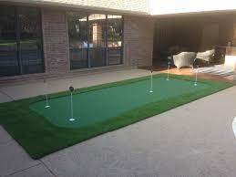 putting green backyard photo with astonishing backyard putting