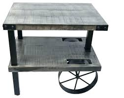 Iron Accent Table Industrial Accent Table Industrial Accent Table Small Industrial