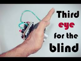 Technology For Blind People Third Eye For The Blind Innovative Wearable Technology For