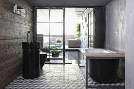White House Bathtub 20 Dramatic Bathrooms With Black Bathtub Rilane