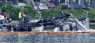 3 alarm boat fire injures crew member in falmouth news