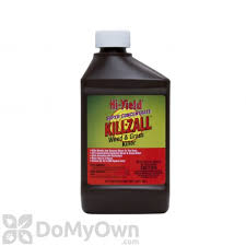 killzall grass and weed killer 41 glyphosate hi yield kill zall