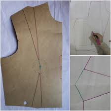 Dress Pattern Without Darts | juliabobbin tutorial how to move darts without slashing your pattern