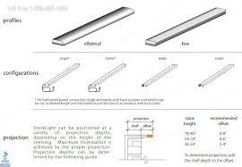 library stack lighting led lights for book shelving ranges
