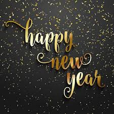 new years back drop gold 3d happy new years black wall photo backdrop vinyl cloth high