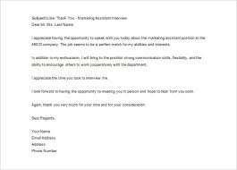 sample thank you letter to hr recruiter letter template