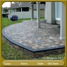 Raised Paver Patio Pavers For Patio Raised Paver Patio Orange Park Provided By