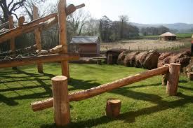 Natural Playground Ideas Backyard Natural Play Copper Beech Garden Design Hereford