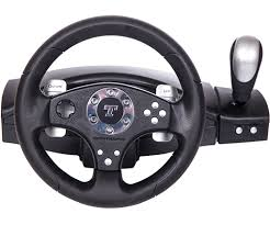 gaming steering wheel the thrustmaster rgt pro clutch a feedback pc steering wheel