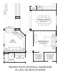 3 Bedroom Floor Plans With Bonus Room by Dorada Estates The Costellana Home Design