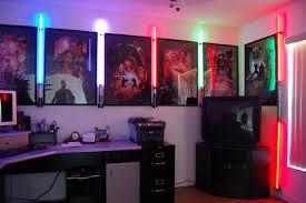 Lightsaber Bedroom Light Some Light Saber Display With Posters Freak A