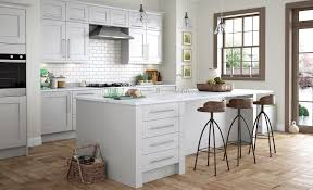 Kitchen Grey Wakefield Contemporary Light Grey Kitchen Stori