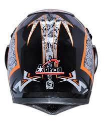 orange motocross helmet aaron black and orange motocross helmets buy aaron black and