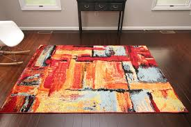 Squares Area Rug Radiance Pattern Collection Modern Squares Area Rug Homelife