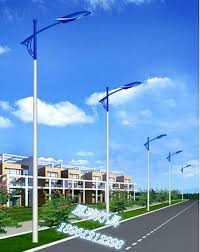 Residential Outdoor Light Poles 2018 Factory Direct 6 Meters A Arm Lposts Outdoor Road