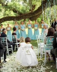 real weddings with blue ideas martha stewart weddings