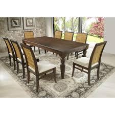 artefama tower dining table artefama furniture flora 79 in cinnamon turning legs dining table