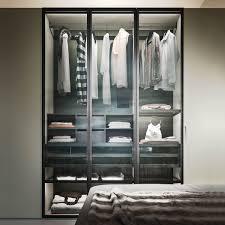 armadio con ante in vetro armadio battente con ante in vetro boutique arredaclick