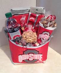 ohio gift baskets the ultimate tailgate tin osu wine gift basket