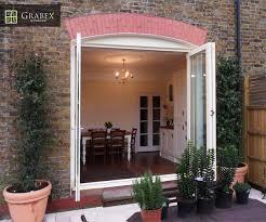 Wooden Bifold Patio Doors Bi Fold Doors London Double Glazing London From Grabex