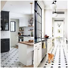 white kitchen cabinets black tile floor black kitchen cabinets with white tile floors page 1