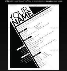 Resume Graphic 20 Best Resume Templates Web U0026 Graphic Design Bashooka