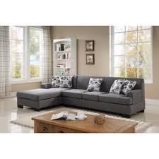 fabric sectional sofa grey fabric sectional sofas shop the best deals for oct 2017