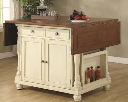 Country Style Kitchen Islands Drop Leaf Kitchen Island Cart Outofhome