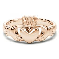 claddagh ring story 14k gold coated silver claddagh ring
