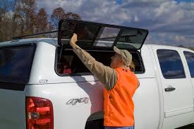 hunting truck a r e cx series is the perfect truck cap for hunters u2014 the