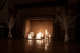 cool fireplace candle holder insert photo decoration inspiration