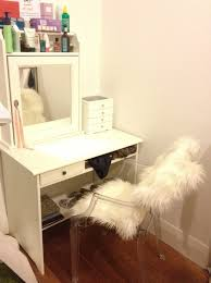 Small Vanity Table Ikea Diy Mirrored Vanity Table Home Design Ideas