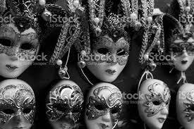 venetian masks bulk bulk of venetian masks hanging in a row stock photo 177421161 istock