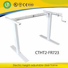 kitchener manual lifting desk rocker arm lifting office furniture