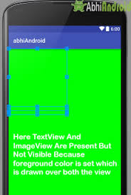 android textview layout gravity java frame layout tutorial with exle in android studio