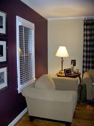 purple cream and black living room house design ideas