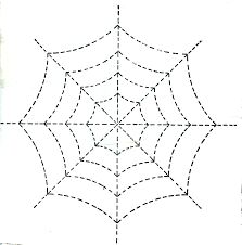 quilt pattern spider web vintage crafts and more halloween